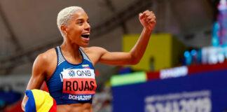 Yulimar Rojas nuevo récord nacional de longitud