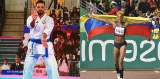 Yulimar Rojas y Antonio Díaz abanderados de Venezuela