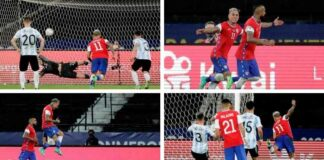 Argentina y Chile empate Copa América