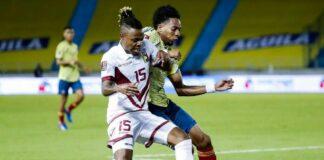 Colombia y Venezuela Copa America