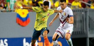 Colombia y Venezuela copa américa