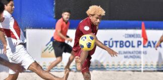 Fútbol playa va ante Ecuador