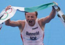 Blummenfelt campeón olímpico de triatlón