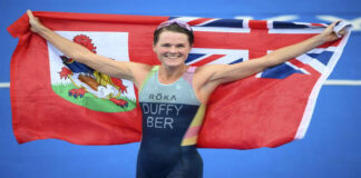 Flora Duffy campeona olímpica