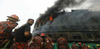 incendio en fábrica de Bangladesh