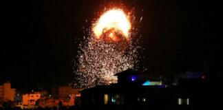 Israel lanzó misiles contra Hamas