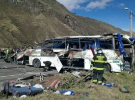 autobús en Ecuador