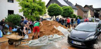 afectados por inundaciones