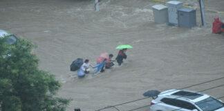 inundaciones en provincia China