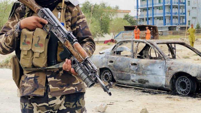ataque con proyectiles en Kabul