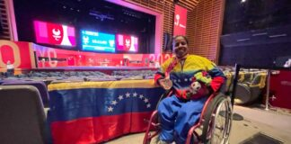 Venezuela conquista primera medalla