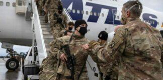 EEUU envió militares Kabul