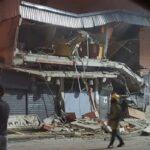 Se desplomó centro comercial en Guatire