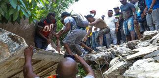 muertos por terremoto en Haití