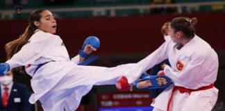 Claudymar Garcés diploma olímpico