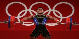Venezuela aporta al campeonato en pesas