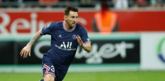 debut de Messi