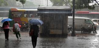 Las lluvias por 10 días