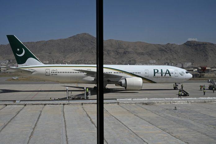 Despegó de Kabul primer vuelo
