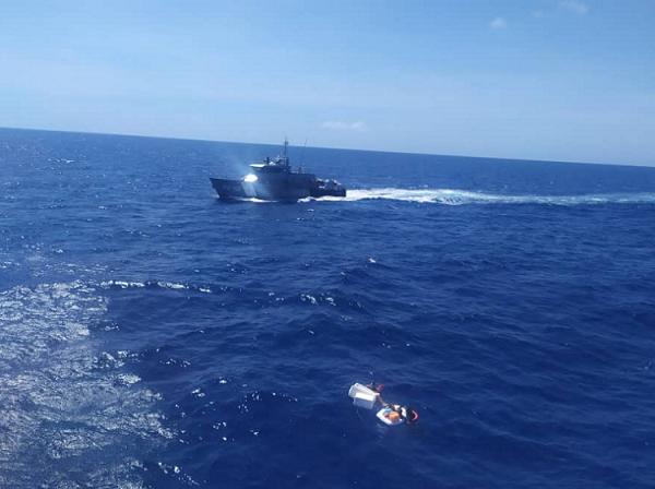 Muere mujer rescatada tras naufragio