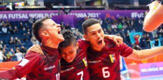 La Vinotinto en Mundial de Futsal