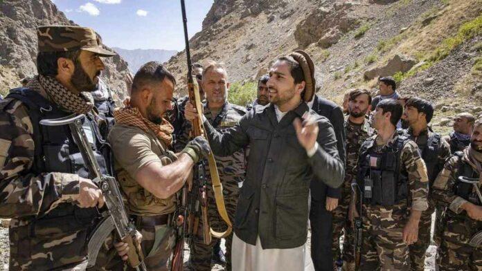 líder de la resistencia afgana