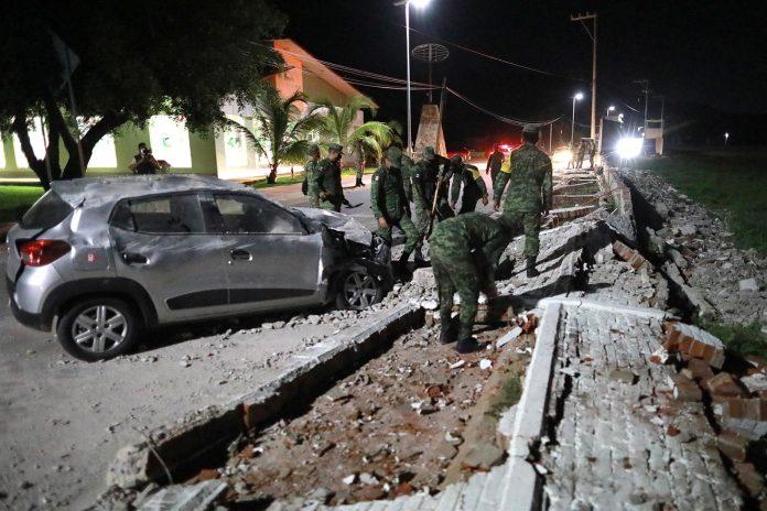 sismo sacudió México