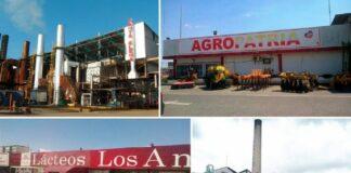 13 empresas de alimentos expropiadas