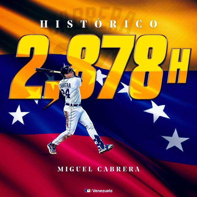 Miguel Cabrera a 33 hits