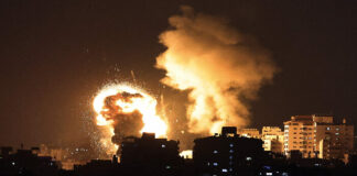 enfrentamientos en Gaza