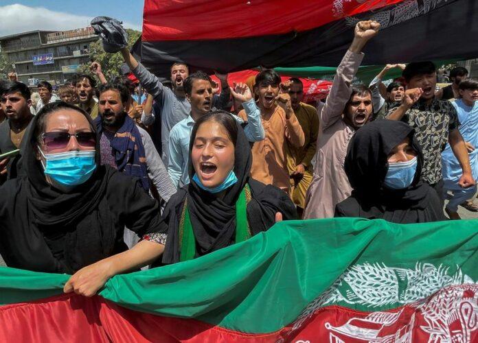 Talibanes reprimieron protestas