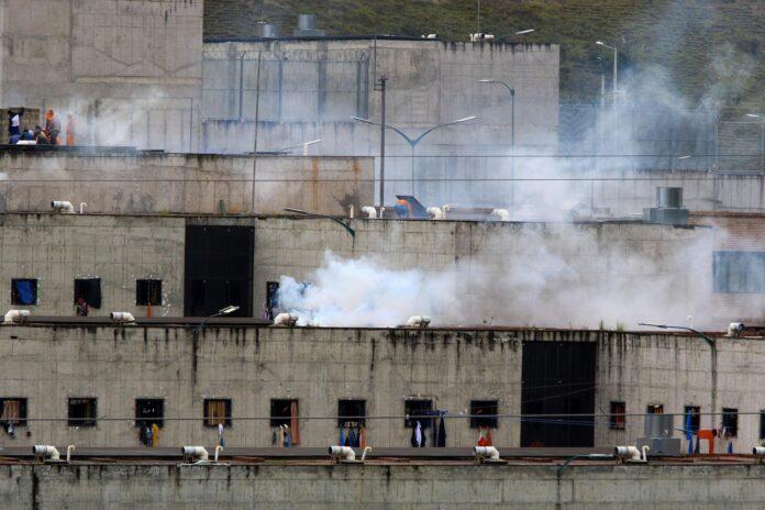 motín en cárcel de Ecuador