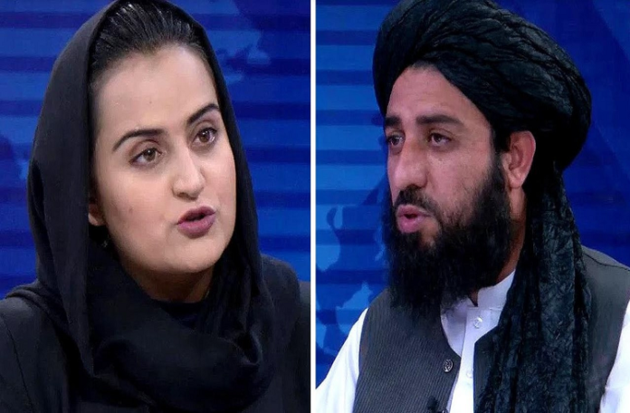 Periodista huyó de Afganistán
