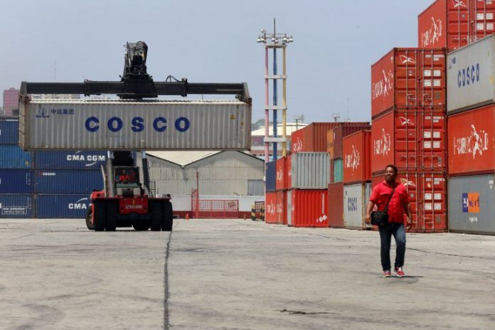 Actividad comercial entre EEUU y Venezuela