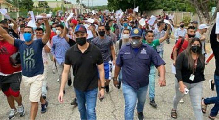 Liberados 259 presos del retén