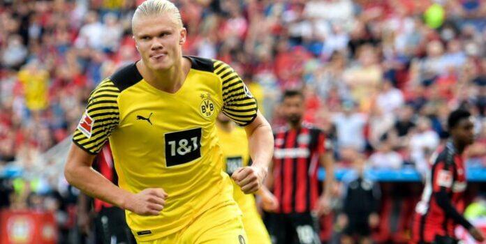 Haaland guió triunfo del Dortmund