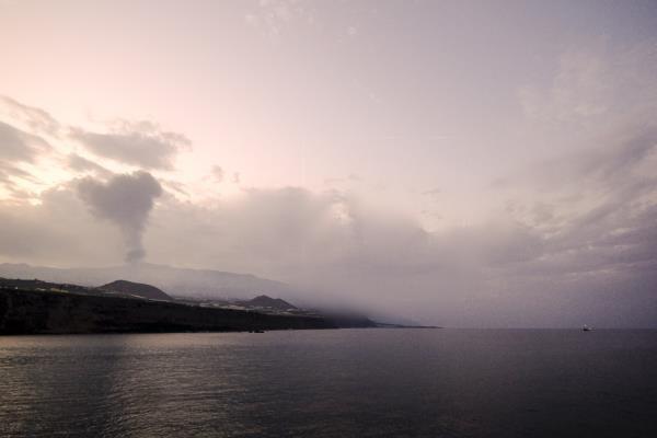 volcán de La Palma detuvo actividad