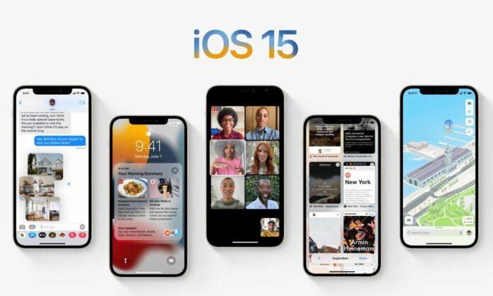 ios 15 iphone