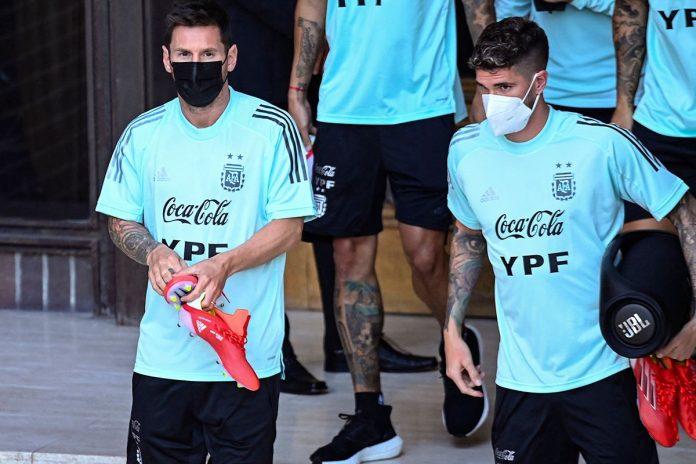 Messi y Argentina ante Venezuela