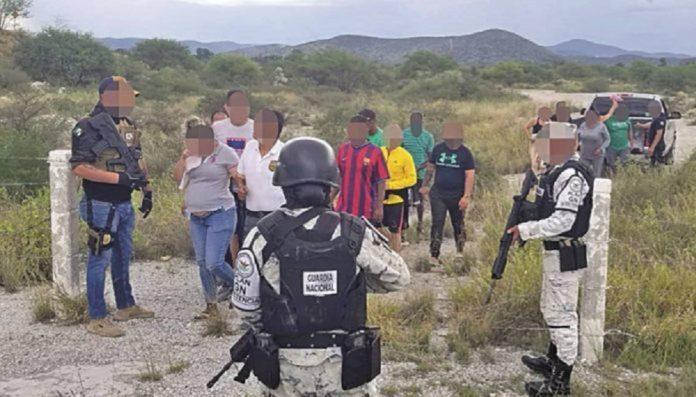 Migrantes venezolanos secuestrados en México