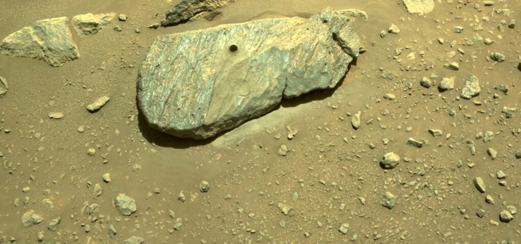 rover Perseverance de la NASA