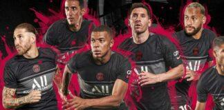 PSG presentó su nueva camiseta