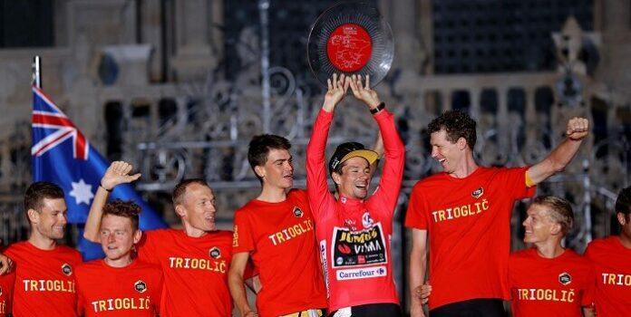 Primoz Roglic Vuelta a España