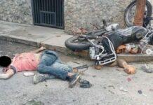Ladrones fueron arrollados por sus víctimas