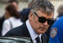 Baldwin asistió al funeral de Halyna Hutchins