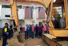 demolición del retén de Cabimas