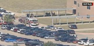 tiroteo en escuela secundaria de Texas