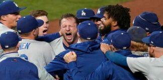 Dodgers ganan a Gigantes