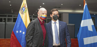 Presidente de la FIFA llegó a Venezuela