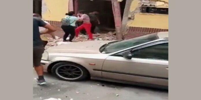 fuerte explosión en Caracas